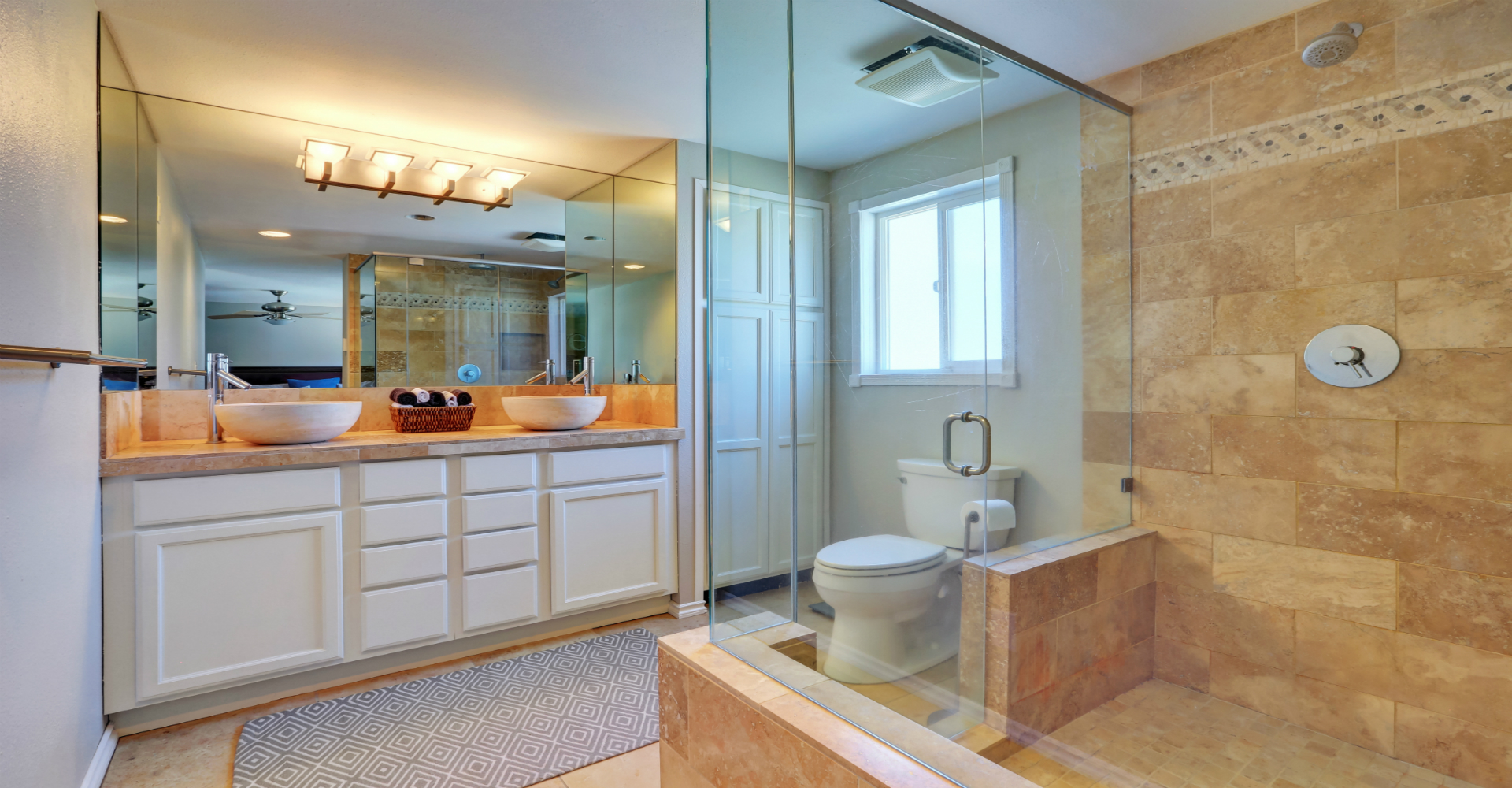 A Frameless Shower Door Mounting One On A Bathtub