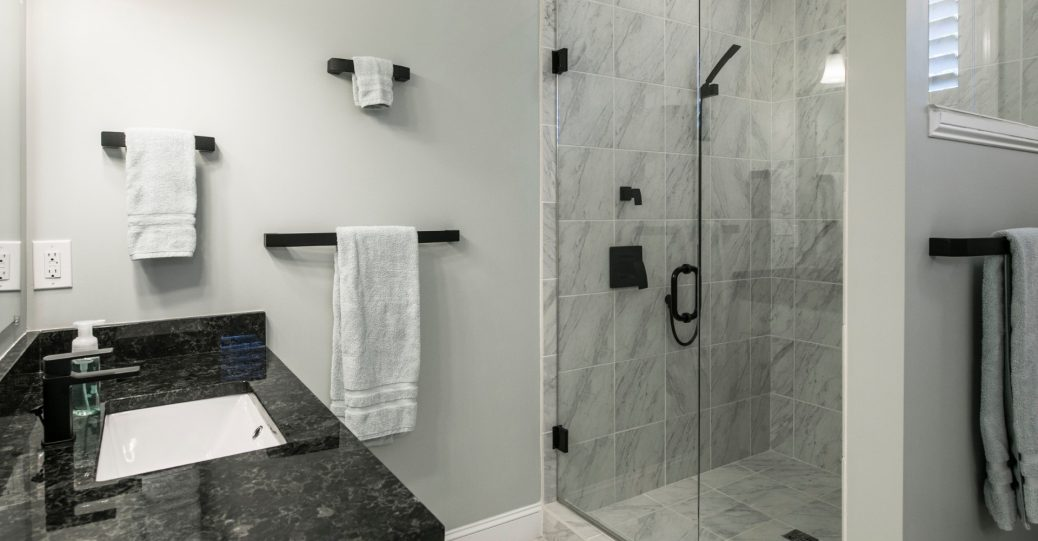 glass shower door installation
